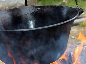 11 l Cast-iron pot Plov