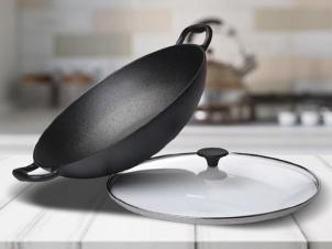 Cast-Iron Pan WOK Ø 36 cm
