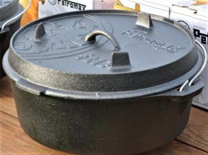 10.8 l Malmist potti Dutch-Oven