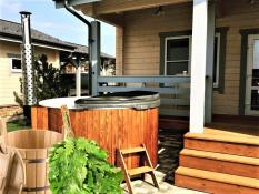 GARDEN SAUNAS and HOT TUB
