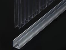 Cellular polycarbonate profiles