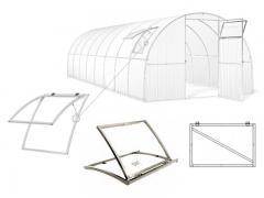 Kasvuhoonete aknad Simple